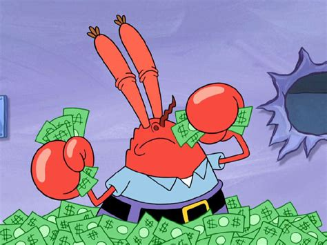 Eugene A Krabs And The History Behind His Love For Money