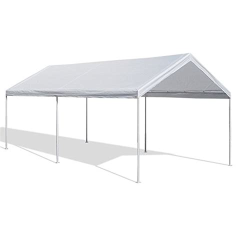 ft canopy replacement white cover top roof tarp shade car  motorcycle boat jetski