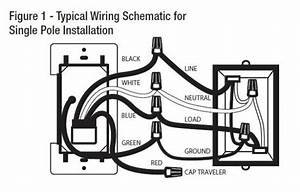 How To Wire A Single Pole Light Switch Diagram