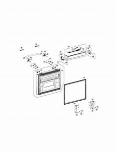Freezer Door Diagram  U0026 Parts List For Model Rfg298aars