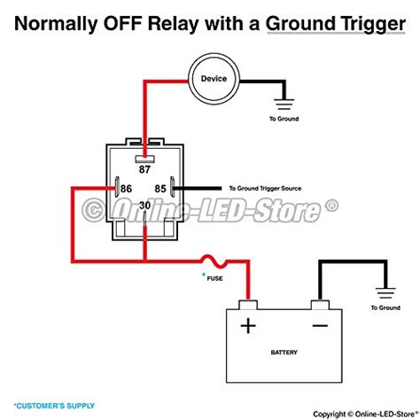 6 pack ols 30a fuse relay switch harness set 12v dc 4 pin import it all