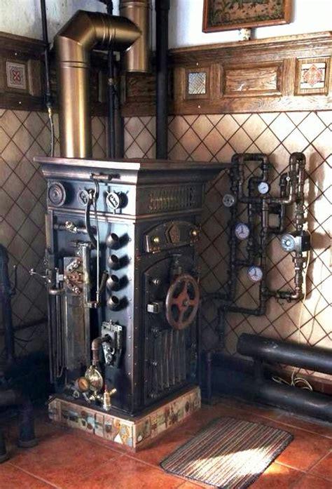 steampunk boiler steampunk decor steampunk house