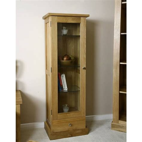 bathrooms with mirrors glenmore solid light oak glazed display cabinet best 12001