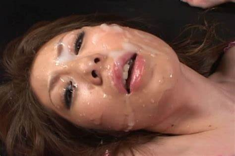 Teenage Asshole Taking In Perverse Scenes And Spermed On Face