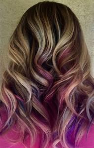 The 25 Best Purple Peekaboo Hair Ideas On Pinterest