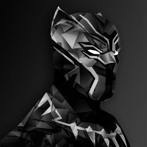 black panther digital art ipad air hd