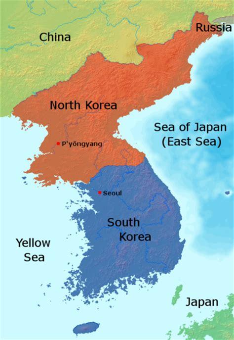 north korea political geography