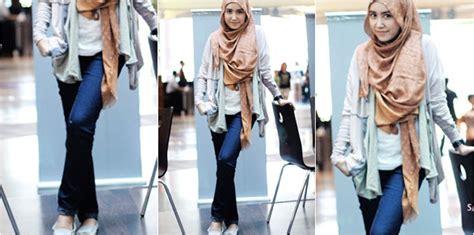 hijab trendy  kuliah tutorial hijab