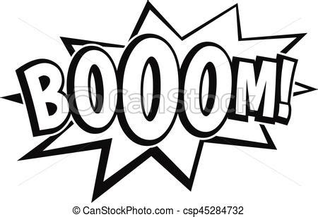 zap clipart black and white boom explosion icon simple style boom explosion