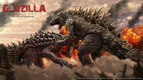 Godzilla Vs Anguirus Concept Art By Ldn-rdnt On Deviantart