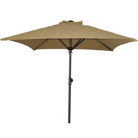 patio umbrellas walmart mainstays square patio umbrella dune walmart