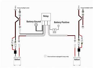 Hid Relay Harness Wiring Diagram