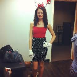 Minnie Mouse DIY Teen Halloween Costumes