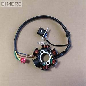6 Pole   6 Coil   5 Wire Dc Fired Magneto Stator For