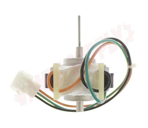 wgf ge refrigerator condenser fan motor wv