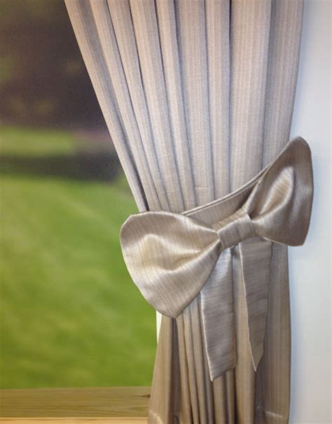 make your room by simple curtain tie backs