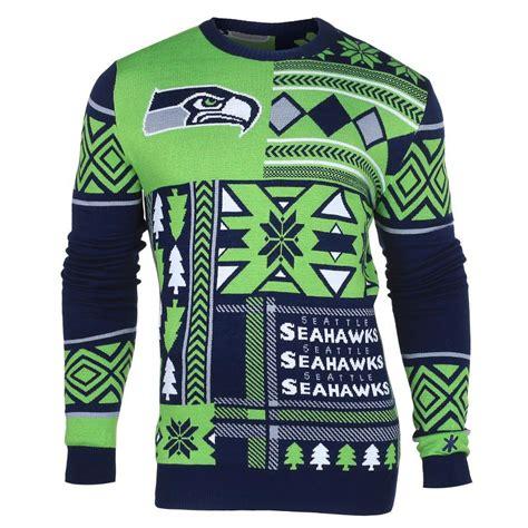 seattle seahawks ugly christmas sweaters ugly christmas
