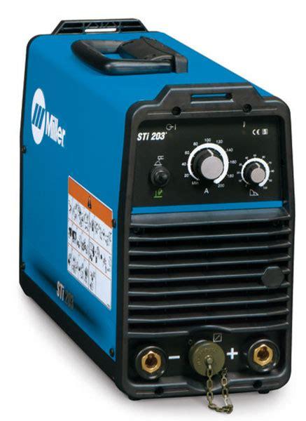 Miller STI 203 Inverter Arc Welder from wasp supplies ltd