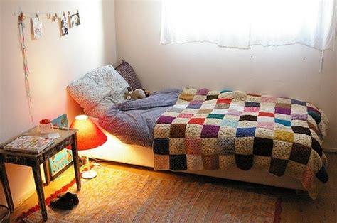 bed bedroom blanket crochet deco rooms image