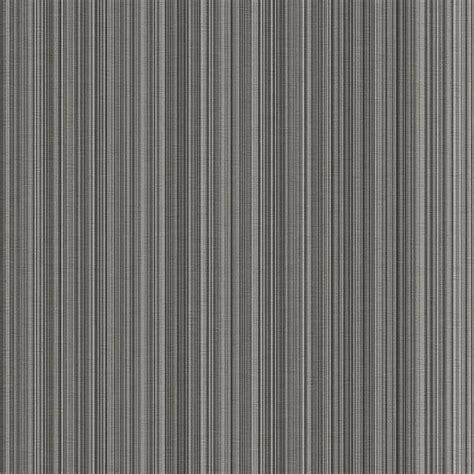 Moderne Tapeten In Grau by Silver Grey Black Stria Stripe Wallpaper Modern Striped