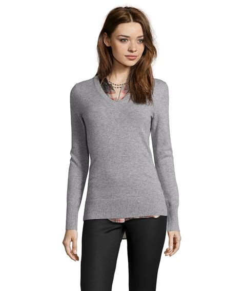 sweaters for grey v neck sweater womens sweater