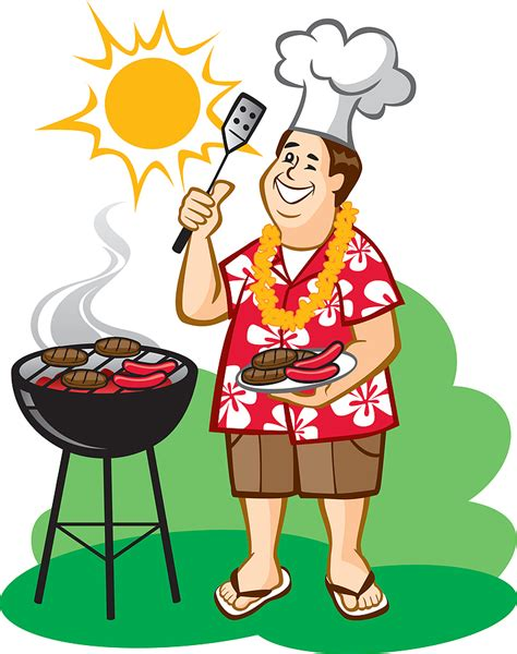 grilling out the gallery for gt pool party bbq clip art