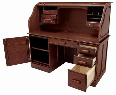 office stock photo cubicles and desks with computers in modern office stock 60 quot w solid oak rolltop computer desk in cherry finish in
