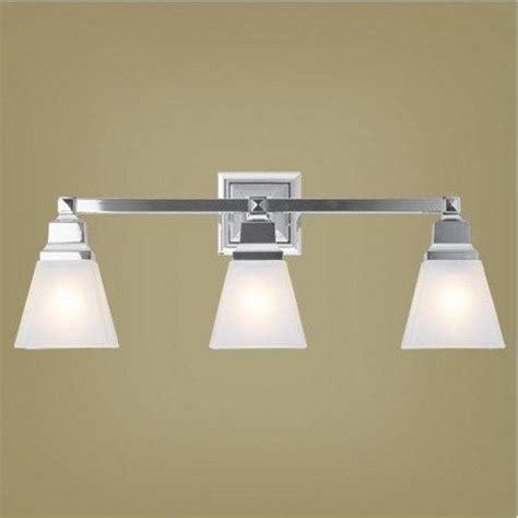 livex 3 light mission bathroom vanity lighting fixture chrome white glass ebay