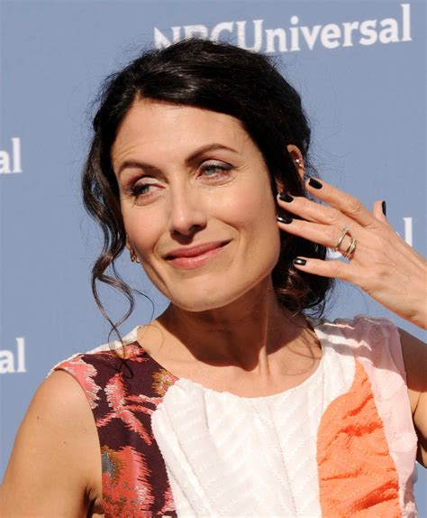 Lisa Edelstein at the NBCUniversal 2016 Upfront ...