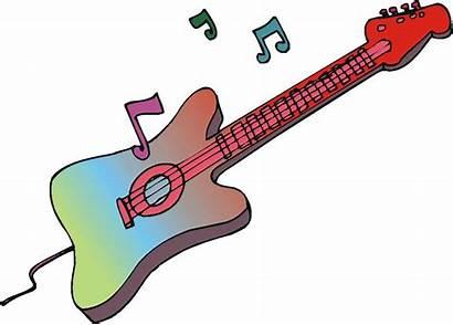 Rock Roll Clip Guitar Clipart Rolls Cliparts