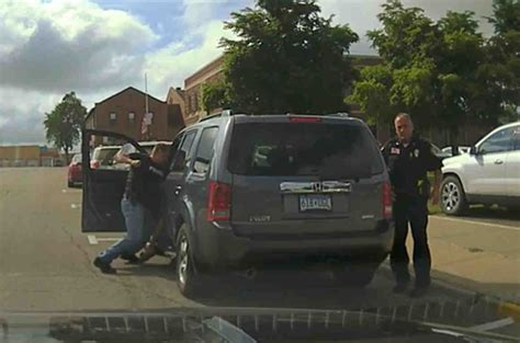 police turn traffic stop  violent encounter davis