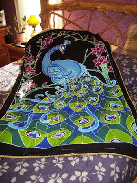 peacock quilt pattern scustomcreations peacock quilt