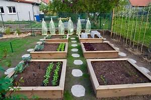Carre De Jardin Potager : carre jardin potager ~ Premium-room.com Idées de Décoration