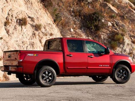nissan titan cer 8 biggest trucks autobytel com