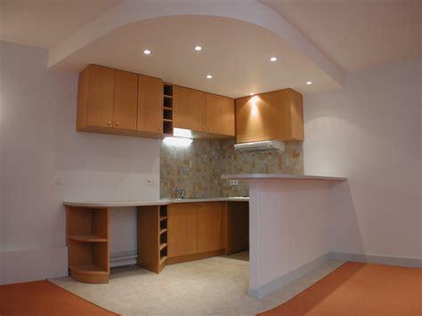 decor platre pour cuisine décoration cuisine avec platre