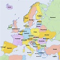 European Countries in Swedish : europe