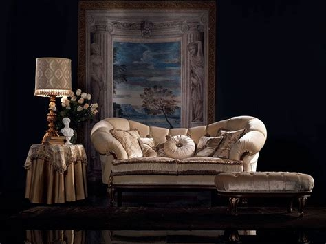 Picture Of Valeria Sofa Capitonné, Stuffed Sofa