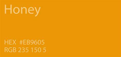 honey color 24 shades of orange color palette graf1x