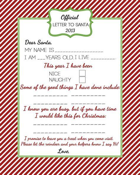 santa naughty list certificates coordinating santas