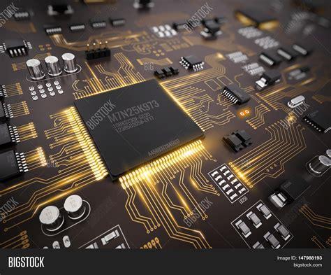 High Tech Electronic Image Photo Free Trial Bigstock