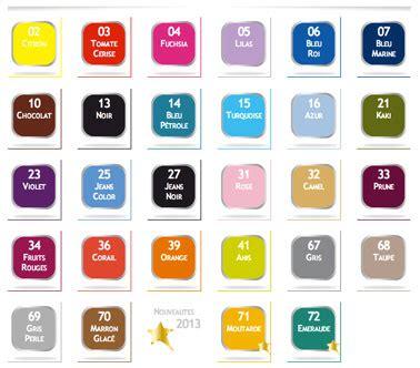 teindre canapé cuir nuancier teinture tissu ideal 28 couleurs