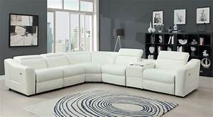 Leather sectional sofa with power recliner hereo sofa for Sectional sofas with 4 recliners