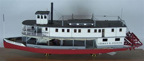 Steam Boat Model by Artifact Of The Month Steamboat A Edison