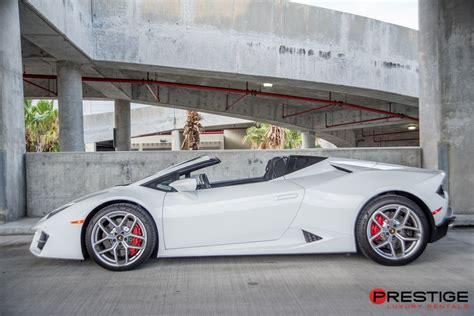 Lamborghini Huracan Spyder White 2018