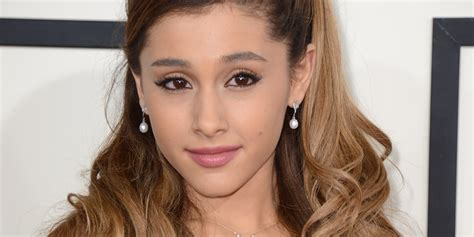 Ariana Grande Ditches Signature Hairstyle For Sleek New 'do