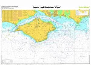Southampton Water Isle Of Wight Solent Splashmaps Chart