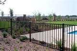 wrought iron fence panels houston fence panel