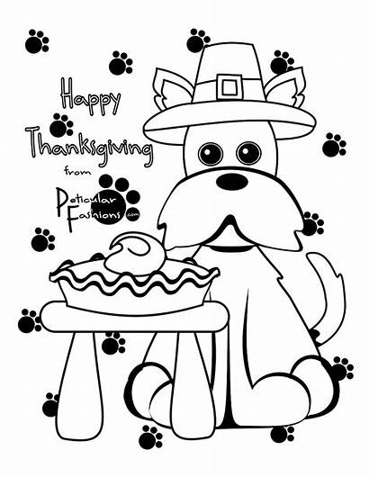 Thanksgiving Coloring Pages Printable Happy Sheets Crafts