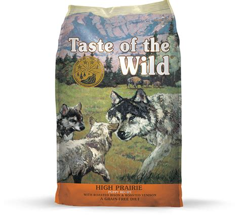 taste   wild high prairie roasted bison  venison