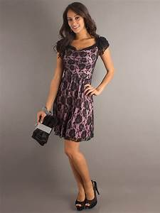 Lace wedding guest dress with capped sleeves and scoop for Lace dress for wedding guest